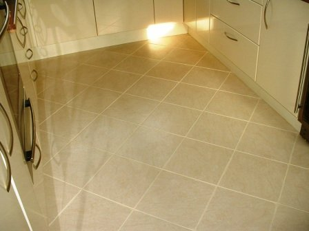 Kitchen After Grout Colouring