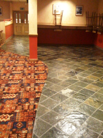 Slate Floor - Triumph Club After