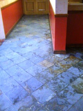 Slate Floor - Triumph Club Before