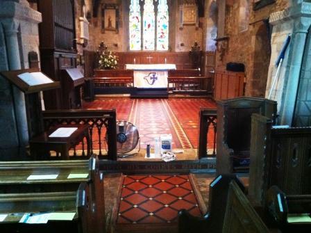Victorian Church Interior