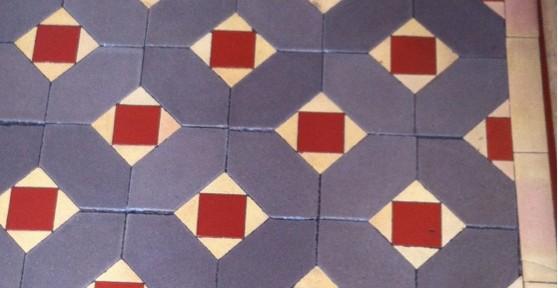 Victorian Tiled Floor in Erdington Birmingham