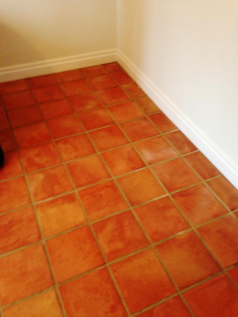 Terracotta Floor After