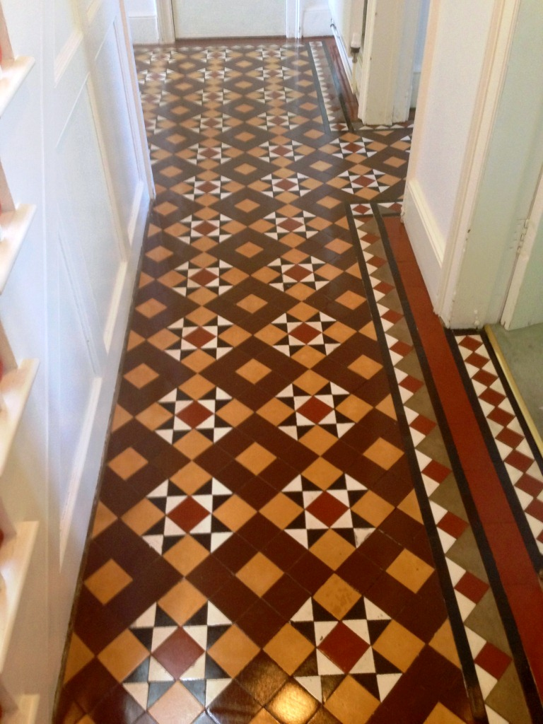 Victorian Tile Cleaned and Sealed