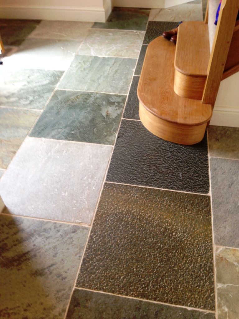 Slate Tiles After Cleaning in Broadwell1