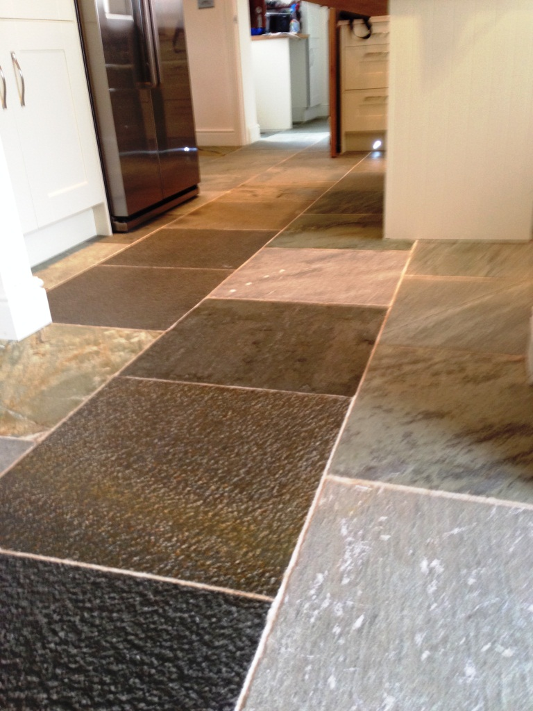 Slate Tiles After Cleaning in Broadwell5