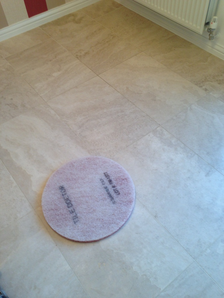 Limstone Tiled Floor Burnishing Pad