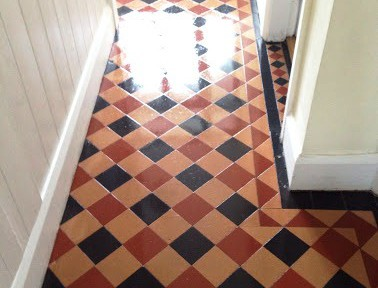 Victorian Floor Cleaned and Repaired in Coundon