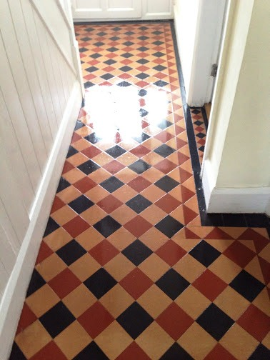 Victorian Tiles in Coundon Cleaned and Sealed