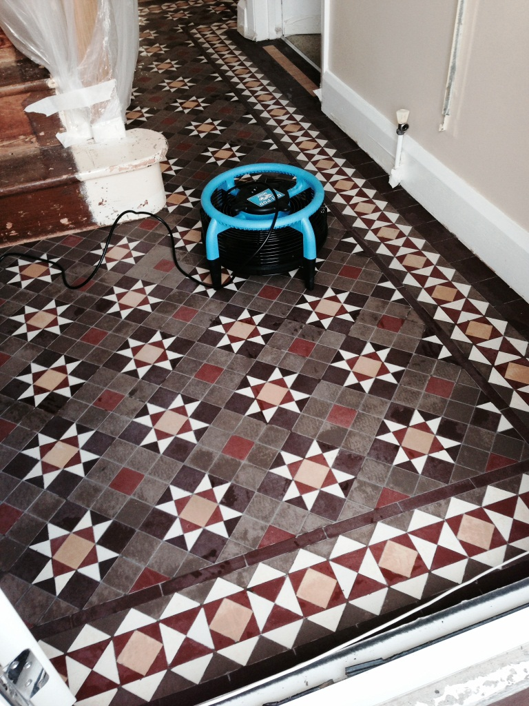 Victorian Tiled Hallway Coventry Drying