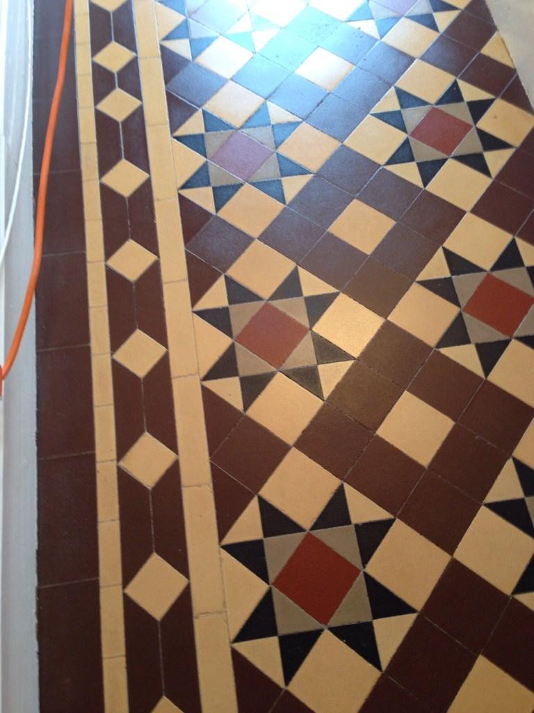 Victorian Tiled Floor Refresh Radford Before