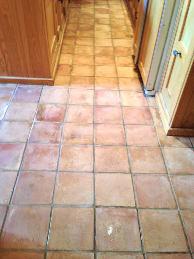 Terracotta Deep Clean Warwick After Cleaning