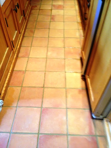 Terracotta Deep Clean Warwick After Sealing