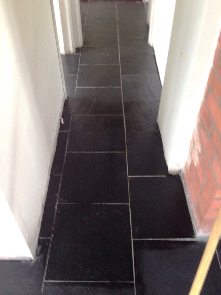 Black Limestone After Cleaning Pillerton Hersay