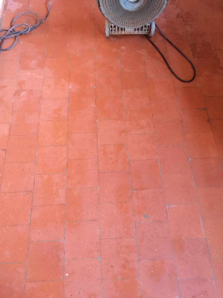 Quarry Tiles Canley After Cleaning