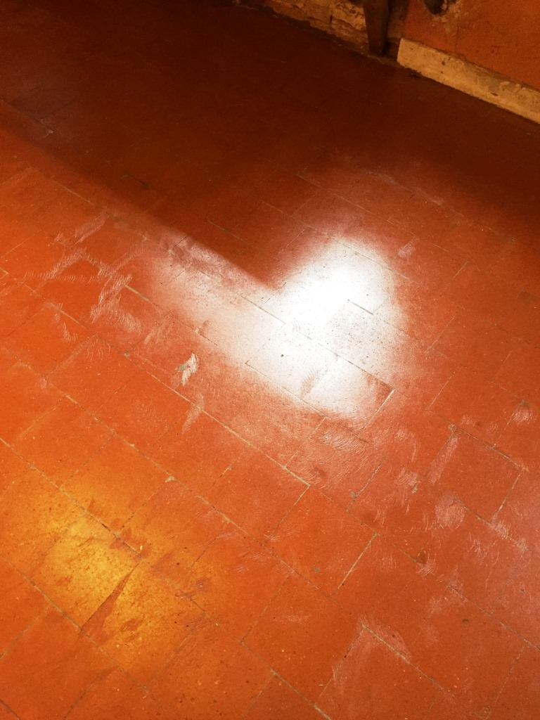 Quarry Tiles Canley After Sealing