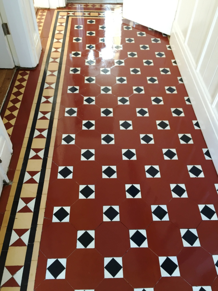 Beautiful Victorian Floor After Cleaning in Wyken