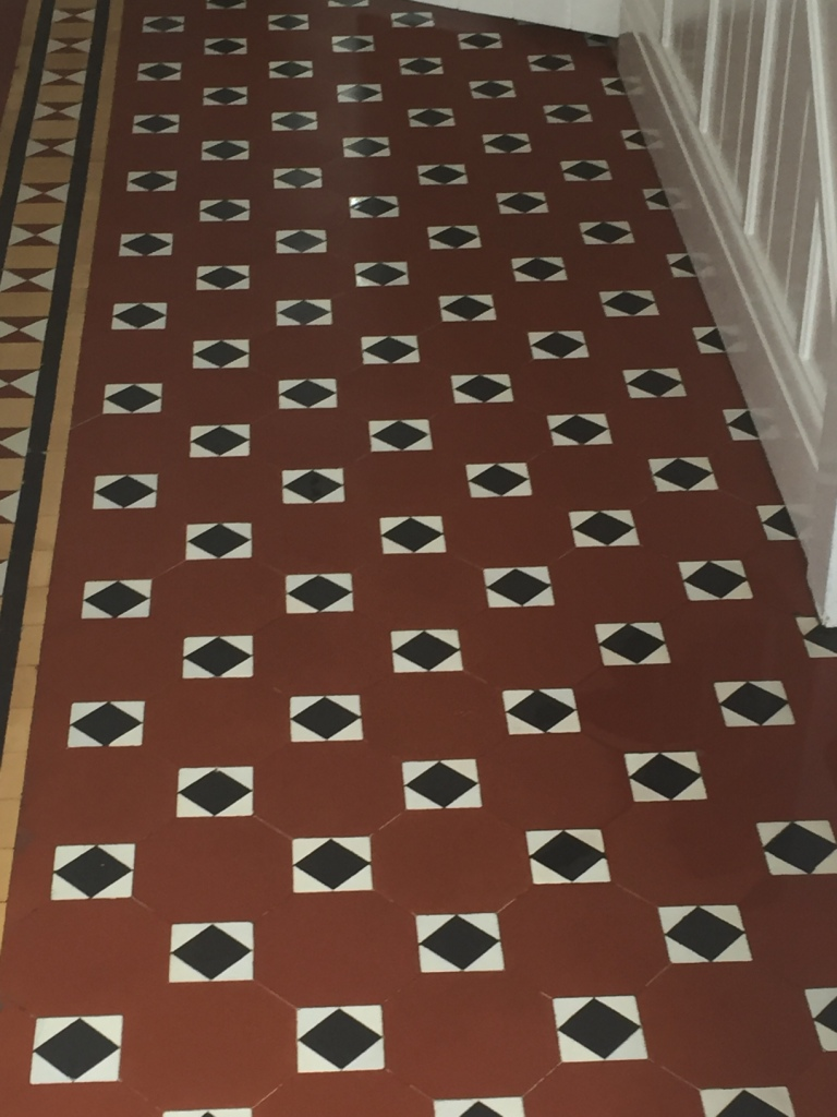 Beautiful Victorian Floor During Cleaning in Wyken