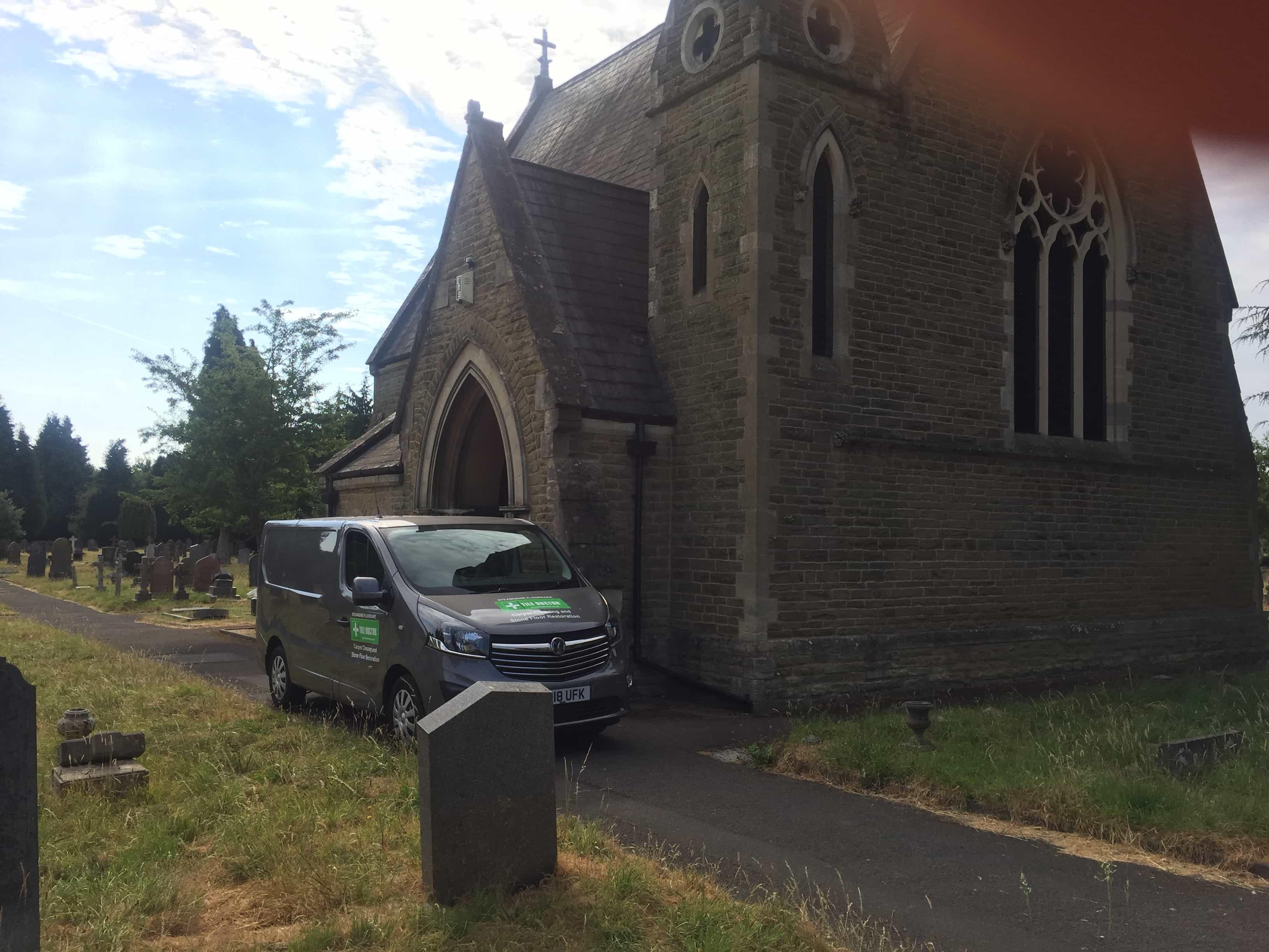 St Chads Church Rugby External