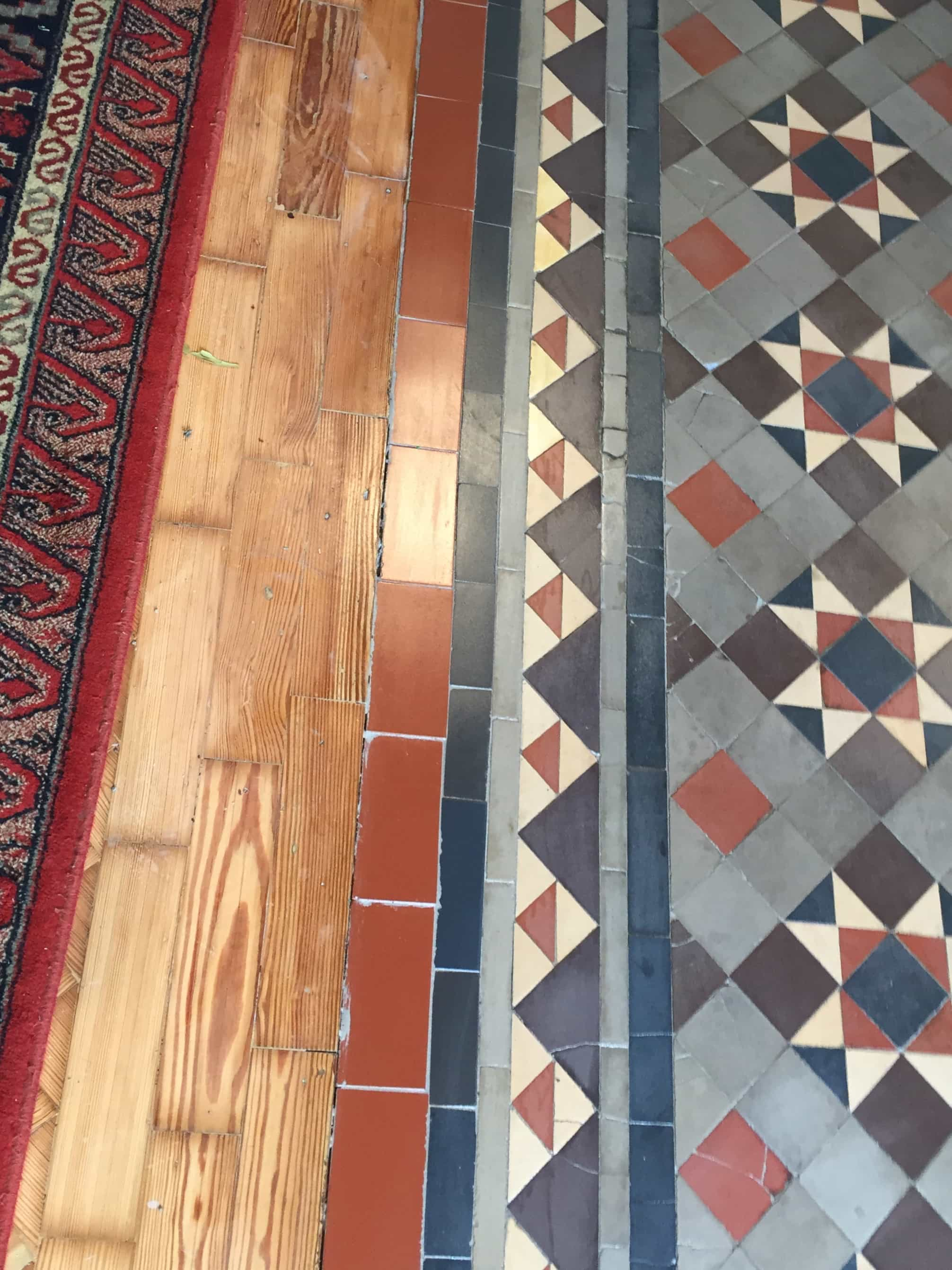 Victorian Church Floor Rugby After Repair
