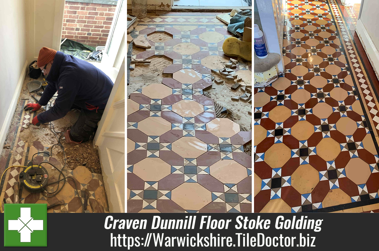 Craven Dunnill Floor Restoration in Stoke Golding Nuneaton